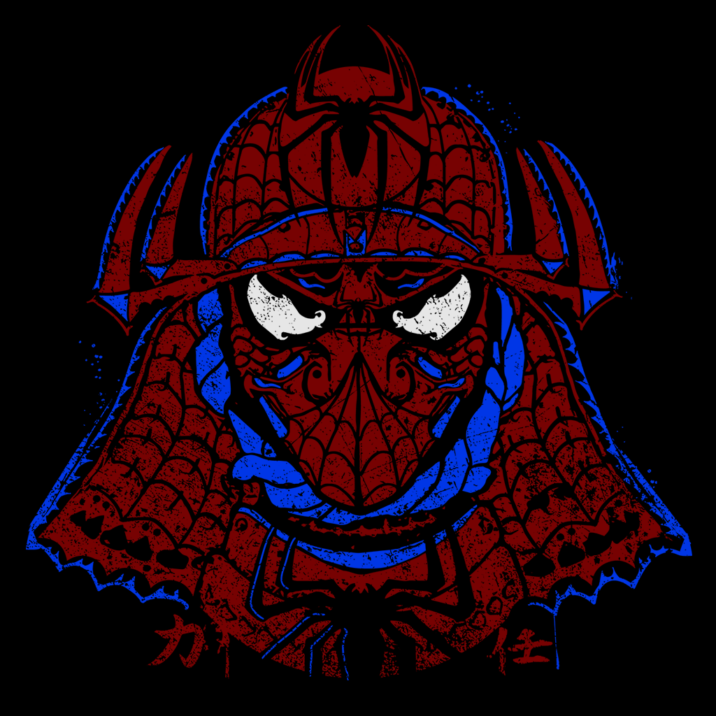 Pop-Up Tee: Spidey Shogun