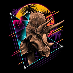 Once Upon a Tee: Rad Triceratops