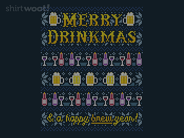 Woot!: Merry Drinkmas Sweater