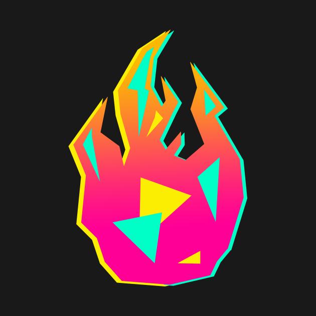 TeePublic: Promare Flame