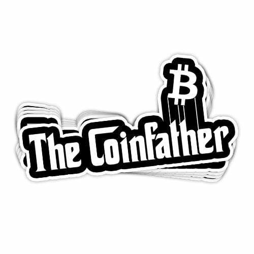 BustedTees: The Coinfather Vinyl Sticker