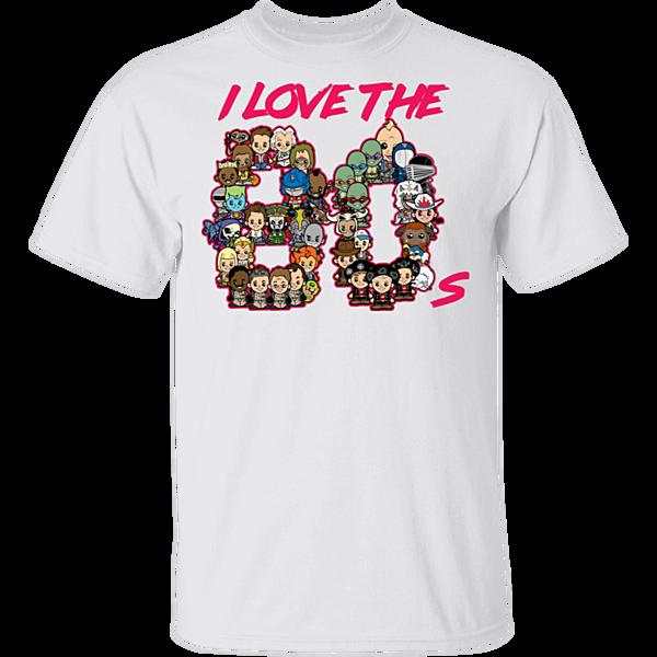 Pop-Up Tee: I Love the 80s