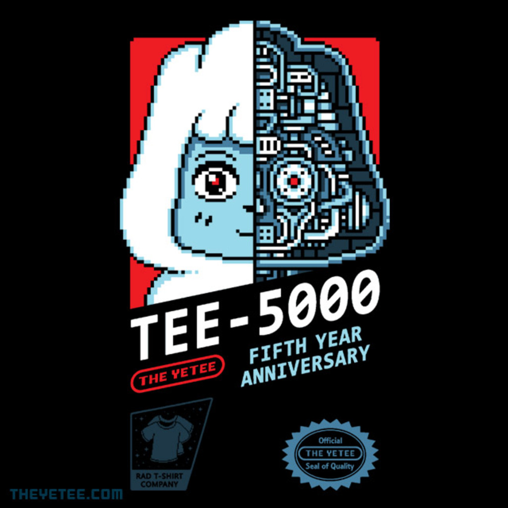 The Yetee: YETEEBOT 5.0