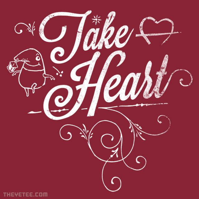 The Yetee: Take Heart!