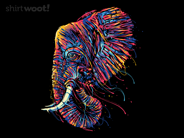 Woot!: Colorful Elephant