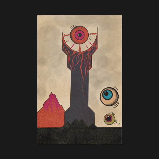 TeePublic: The Eye of Sauron