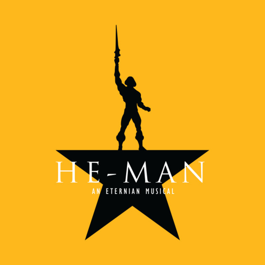 TeePublic: He-Man: An Eternian Musical