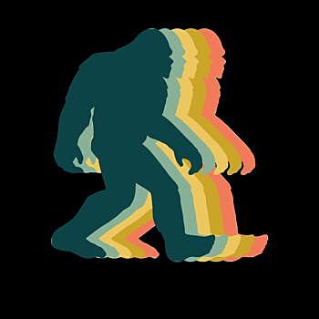 BustedTees: Bigfoot Vintage