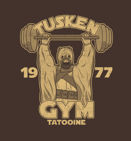 BustedTees: Tusken Gym