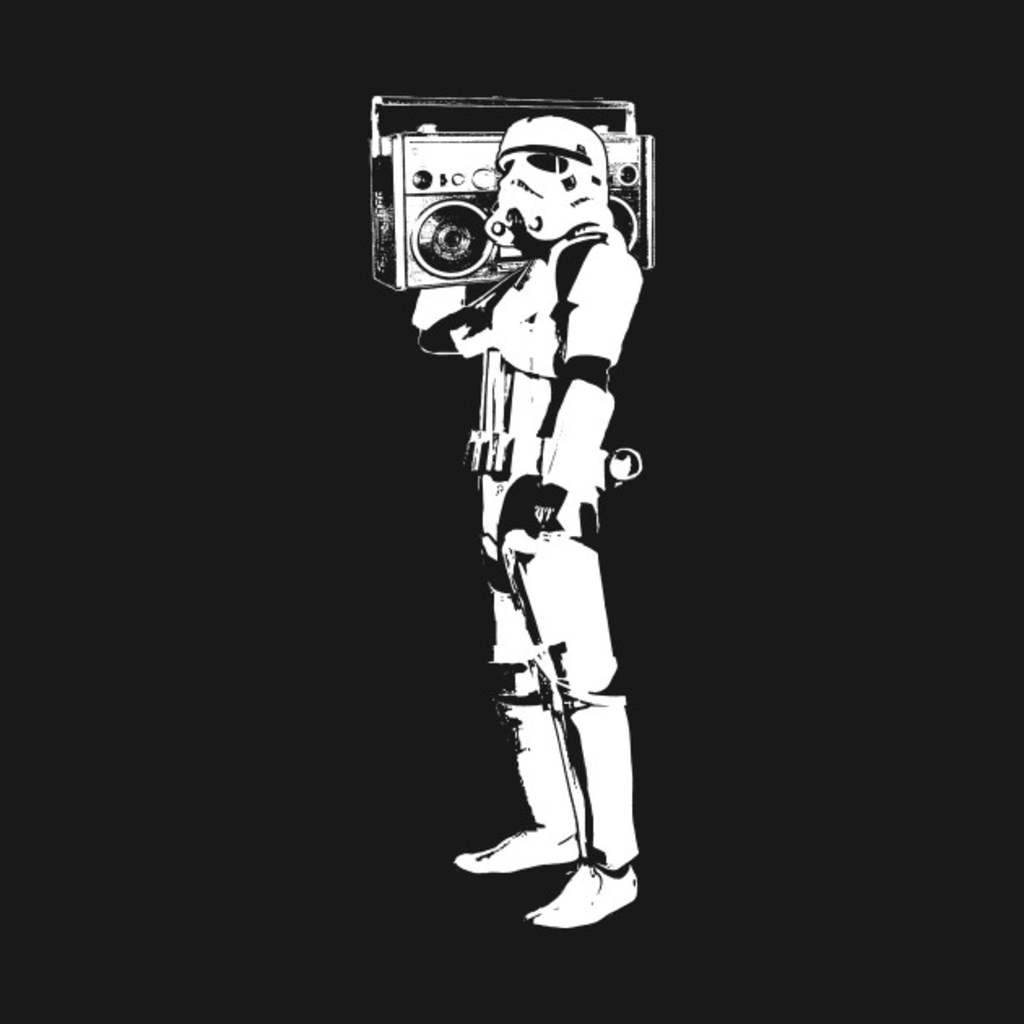 TeePublic: Boombox Trooper