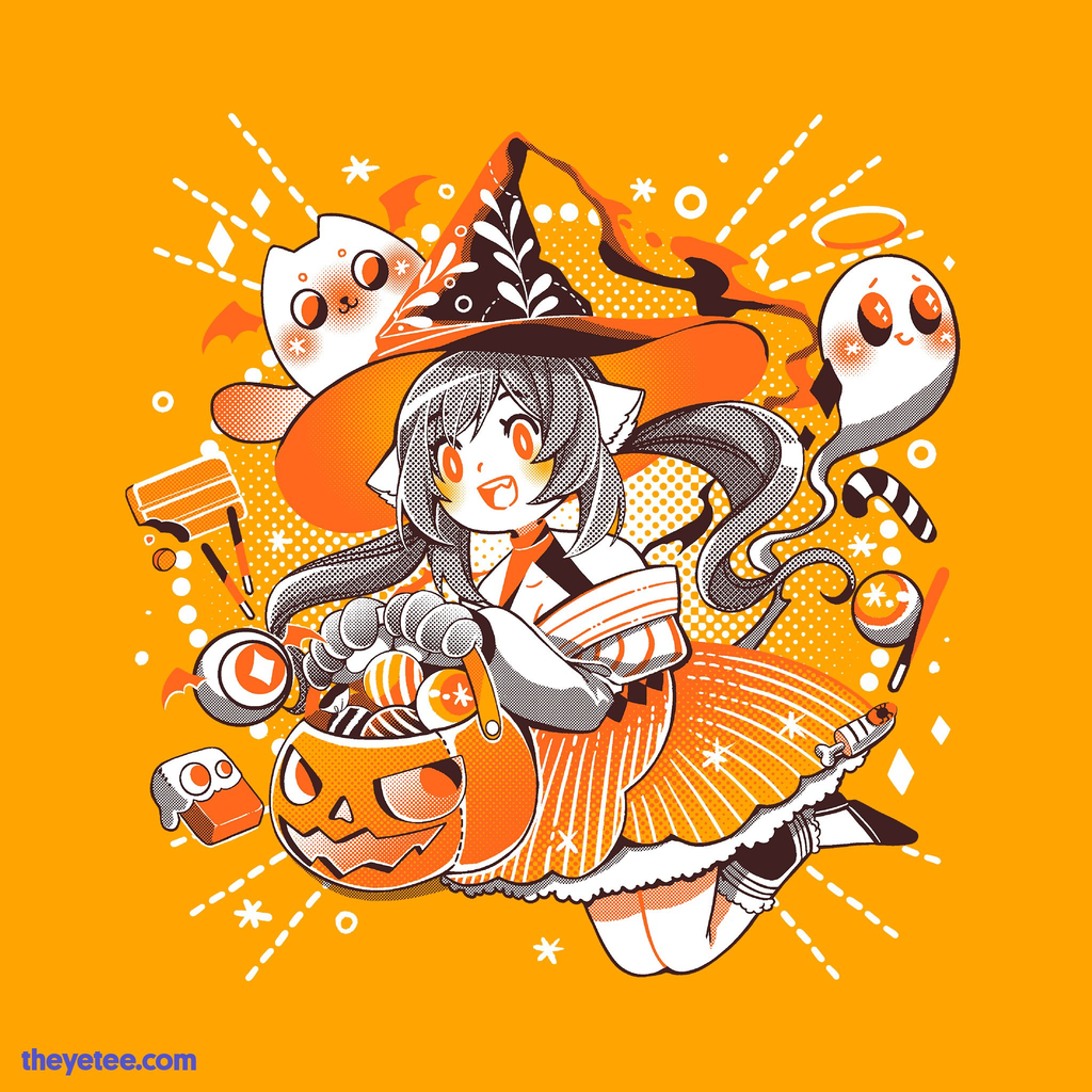 The Yetee: Trick or Treat Witch