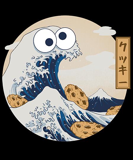 Qwertee: Cookiegana Wave