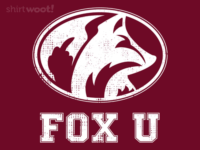 Woot!: Fox U