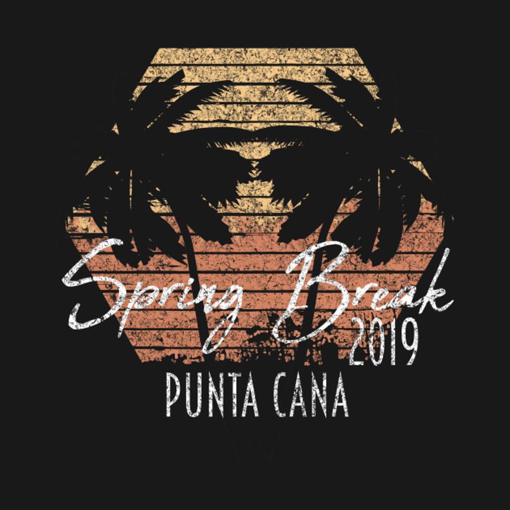 TeePublic: Spring Break 2019 Punta Cana Group Destination Beach