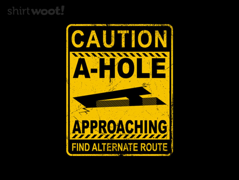 Woot!: A Hole Approaching - $15.00 + Free shipping