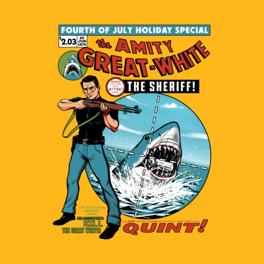 TeePublic: The Amity Great White T-Shirt