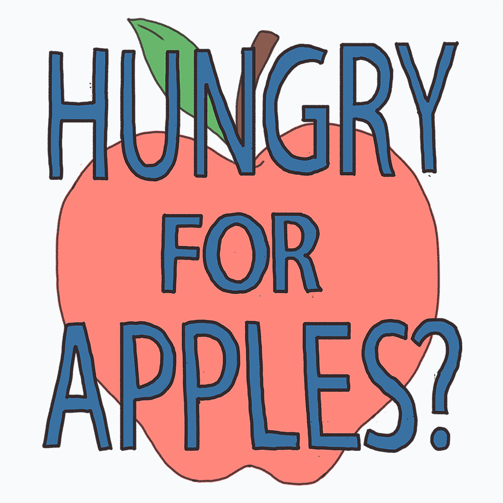 Pop-Up Tee: Hungry for Apples