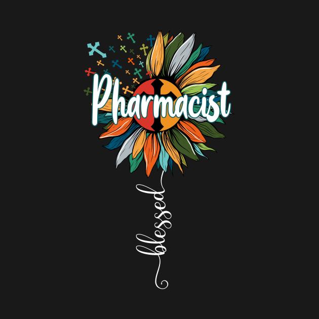 TeePublic: Blessed Pharmacist