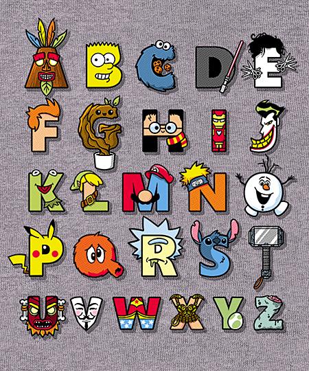 Qwertee: ABC nerd