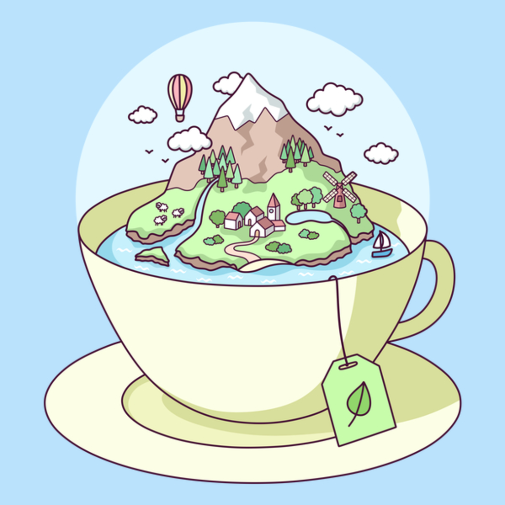 NeatoShop: Tea Island