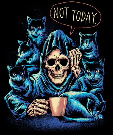 Qwertee: Not Today