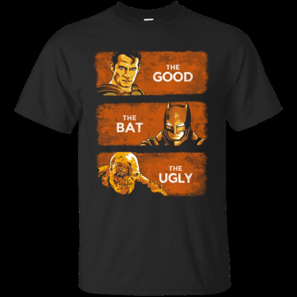Pop-Up Tee: Good, Bat, Ugly