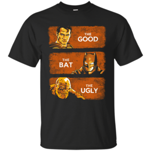 Pop-Up Tee: Good, Bat, Ugly