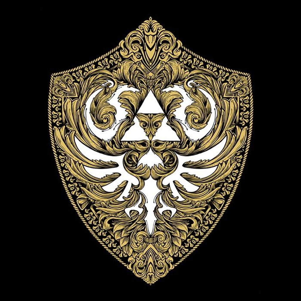 Once Upon a Tee: Hylian Victoriana (Gold)