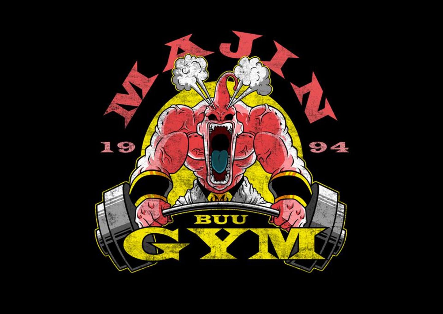 TeeFury: Majin Gym