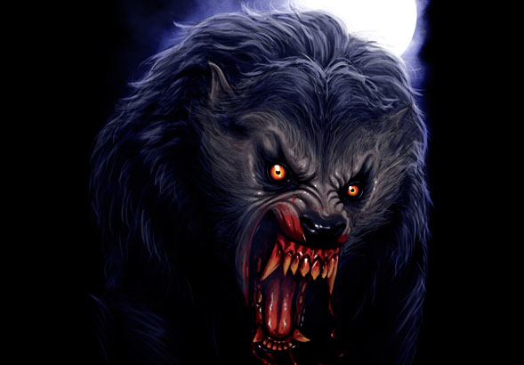 teeVillain: Attacked by a Lycanthrope
