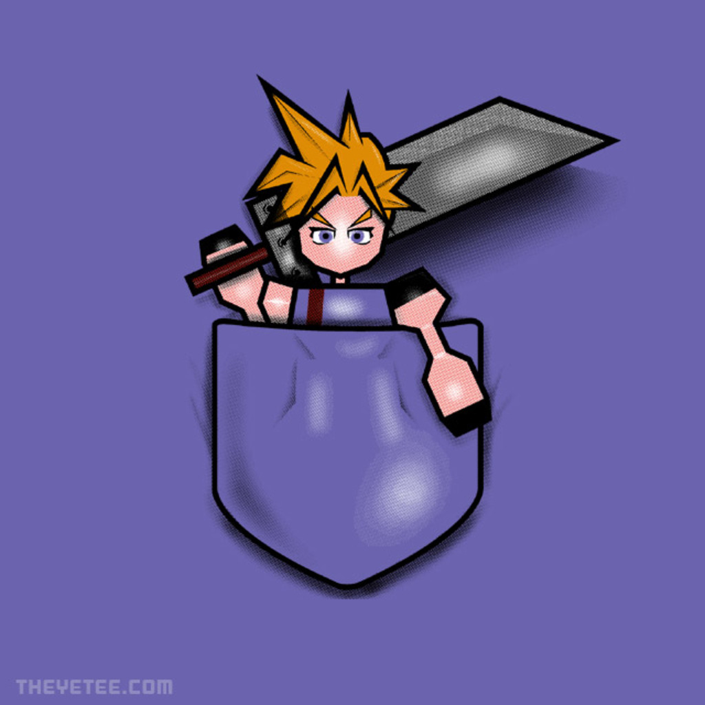 The Yetee: Pocket Soldier