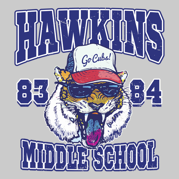 NeatoShop: 1983 1984 Hawkins Middle School Tiger Cubs