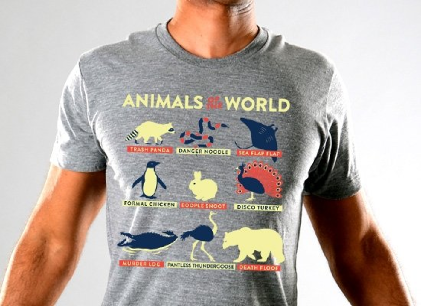 SnorgTees: Animals Of The World Limited Edition Tri-Blend
