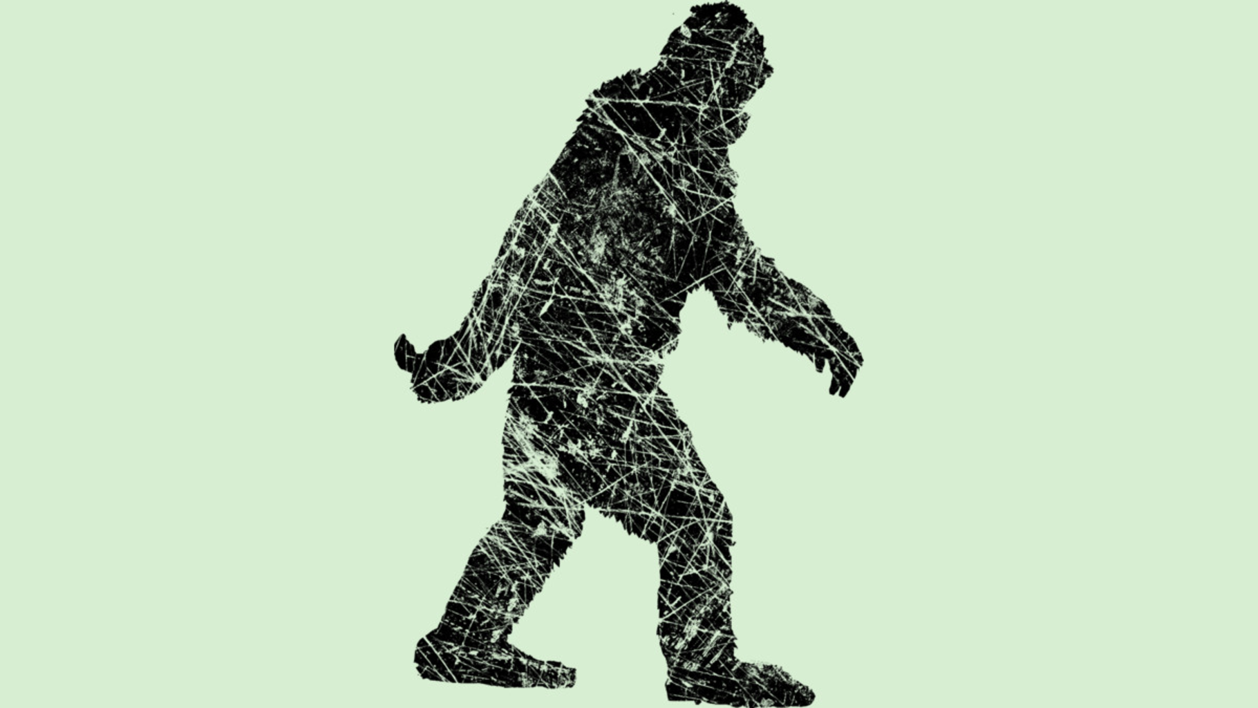 Design by Humans: Grunge Sasquatch BigFoot