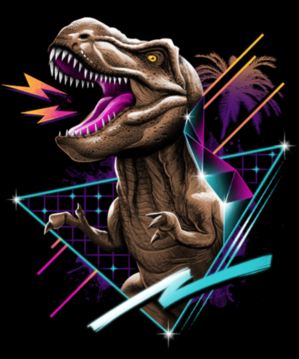 Qwertee: Rad T-Rex
