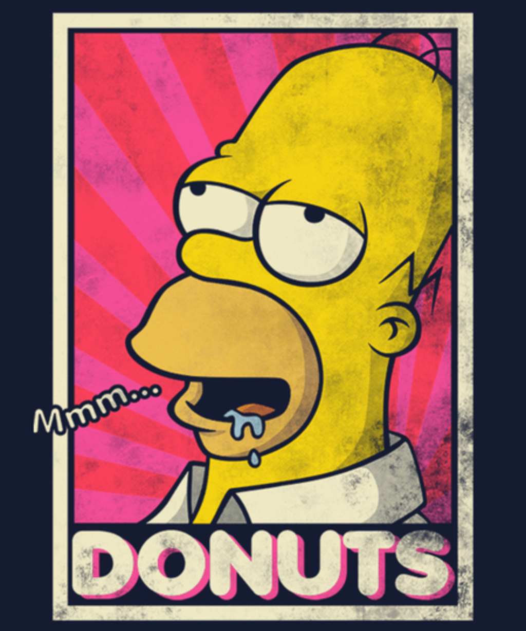 Qwertee: DONUTS!