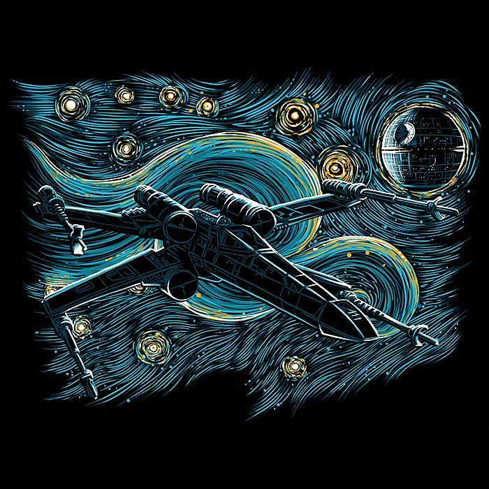 Once Upon a Tee: Starry Rebel