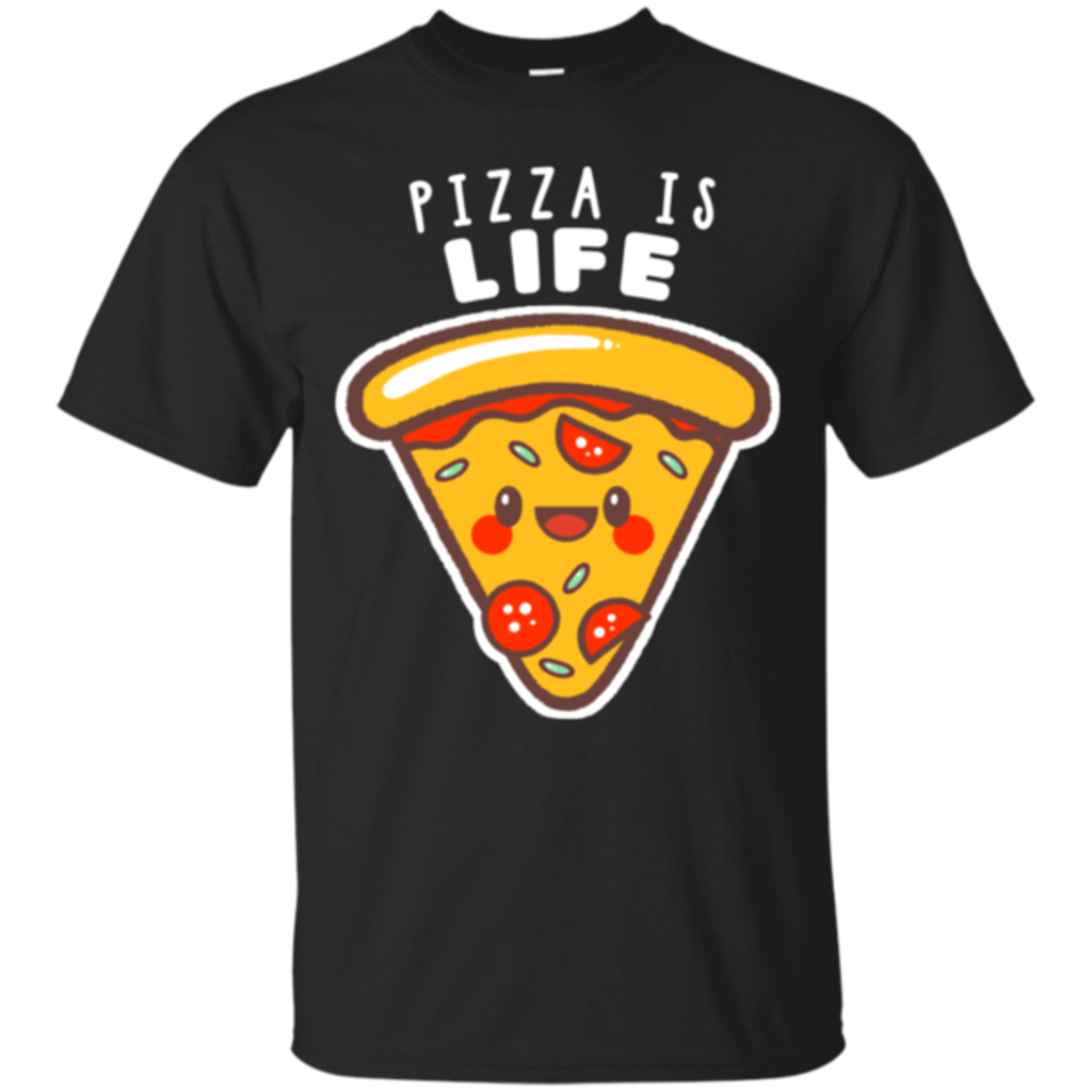 Pop-Up Tee: Pizza is Life