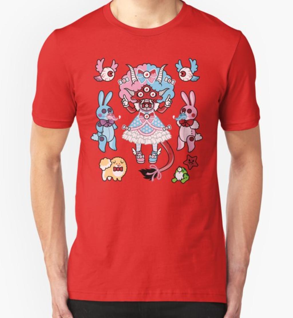 RedBubble: Eye Am Kawaii Krampus