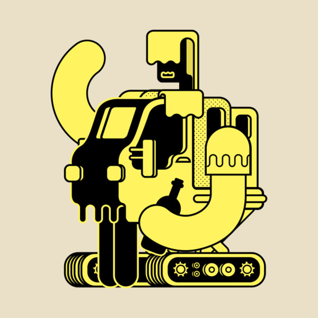 TeePublic: Drunken Bot