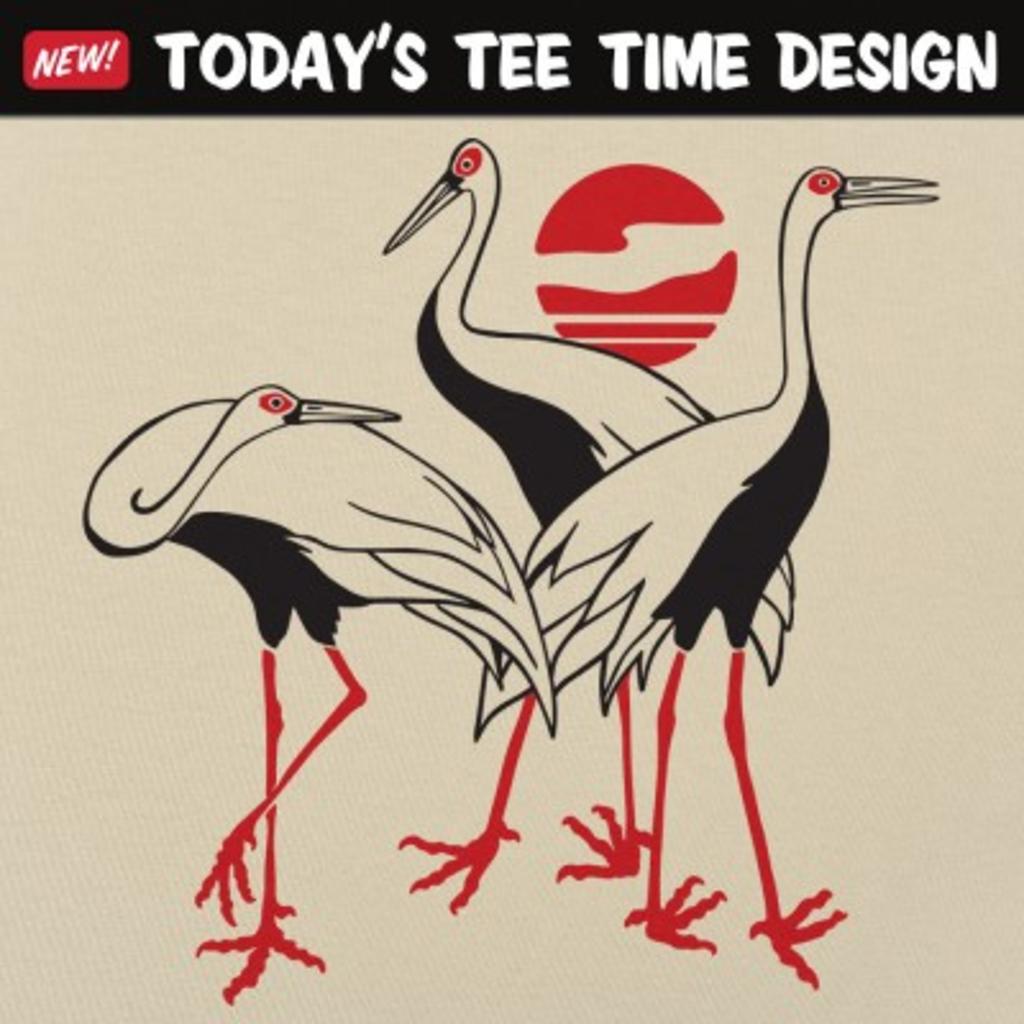 6 Dollar Shirts: Cranes