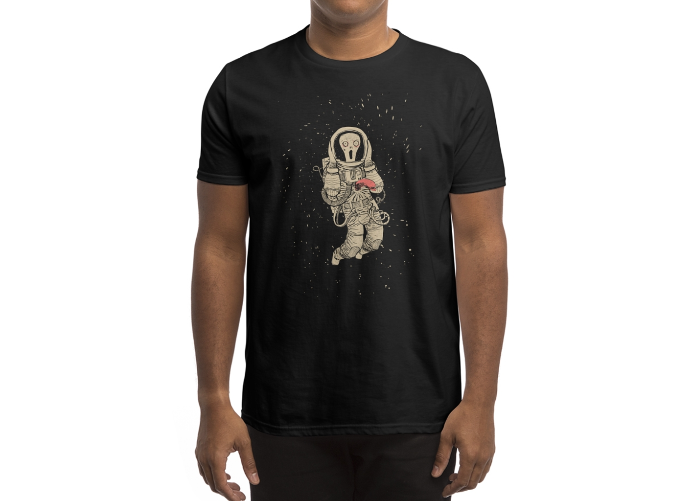 Threadless: In Space no one can hear you scream