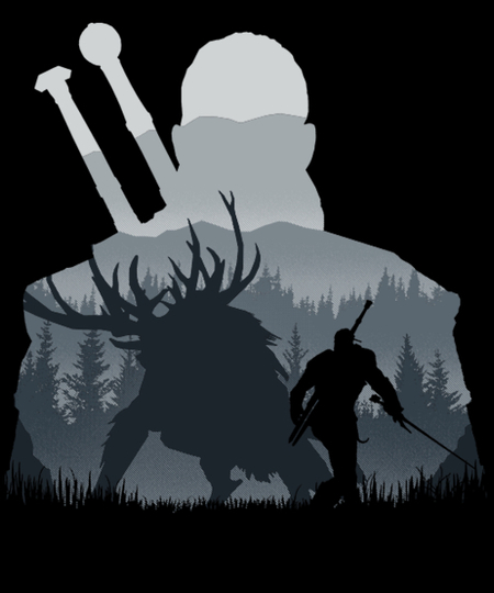Qwertee: Hunter