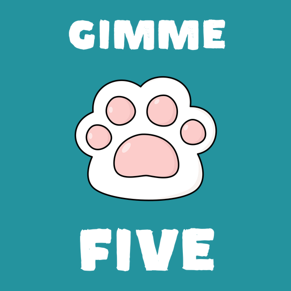 NeatoShop: Gimme high five cat and dog lovers