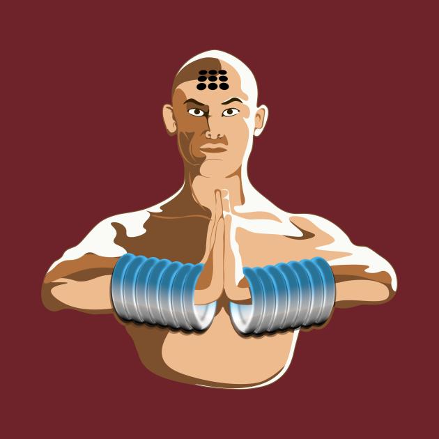 TeePublic: Monk San De (三德)