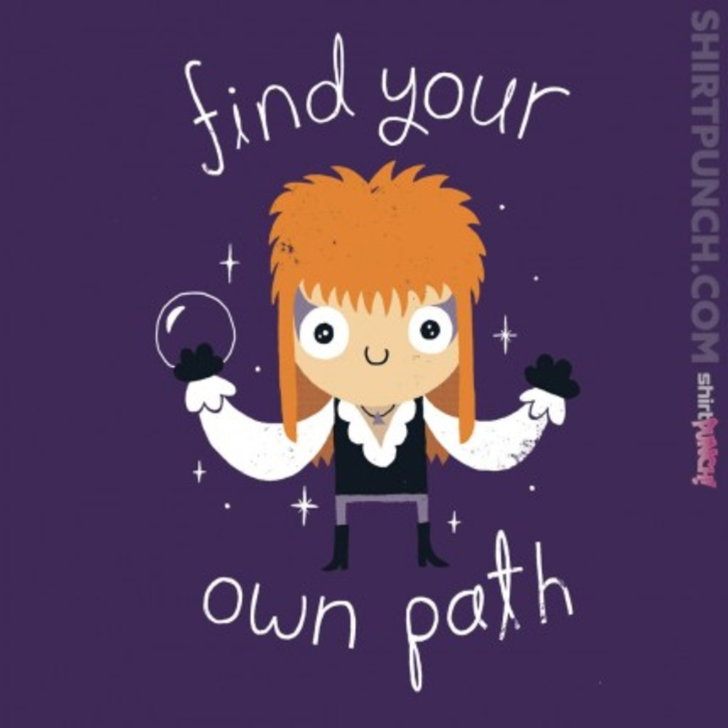 ShirtPunch: Find Your Own Path