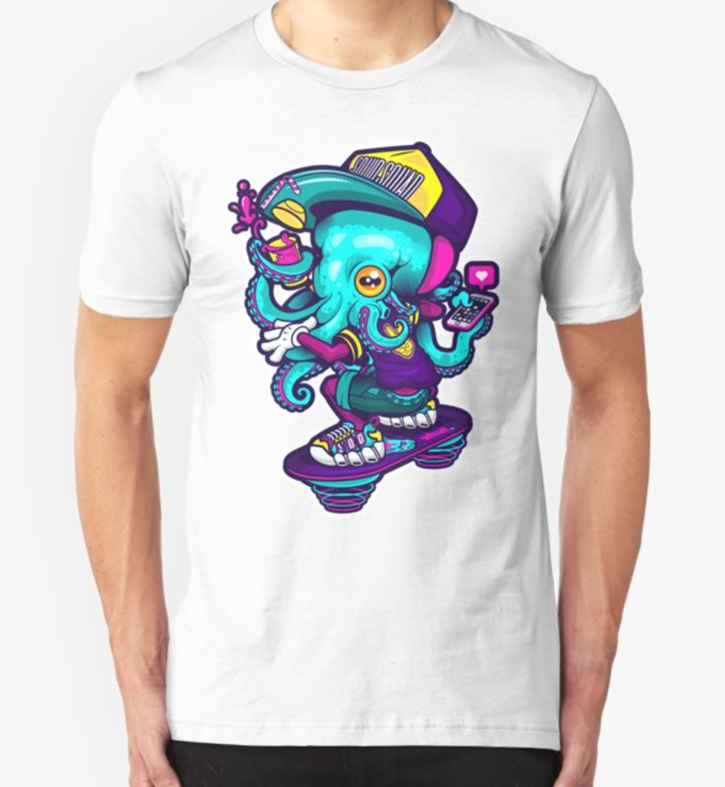 RedBubble: COOL SQUID