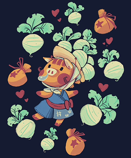 Qwertee: Turnip Merchant
