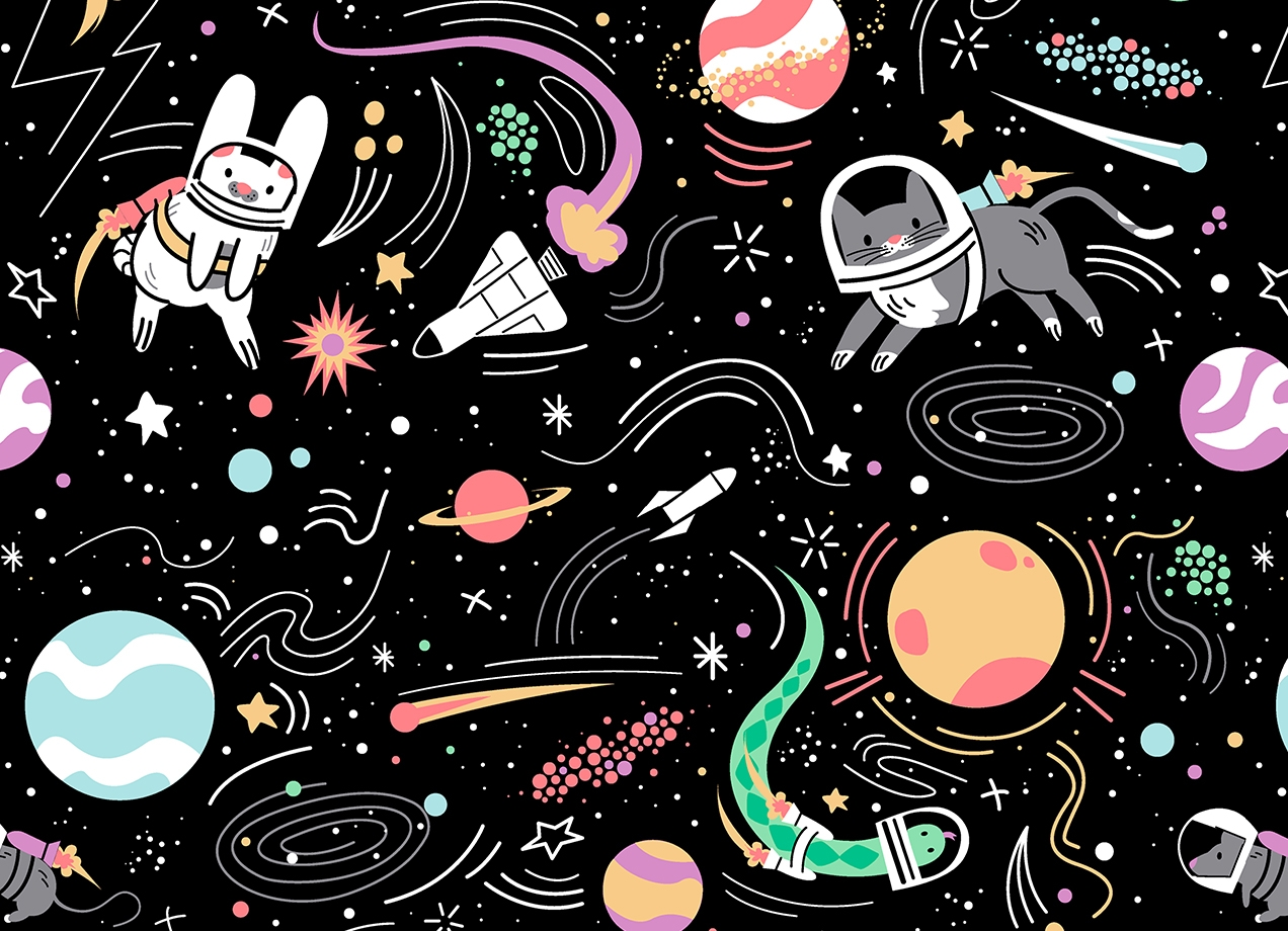 Threadless: Space Pets