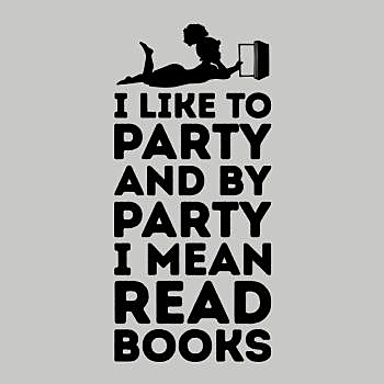 BustedTees: Book Party
